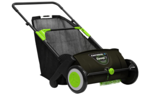 Earthwise LSW70021 Leaf & Grass Push Lawn Sweeper