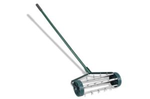 Goplus 18-inch Rolling Lawn Aerator
