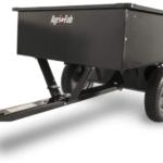 Agri-Fab Inc., 750-Pound Max Utility Tow Behind Dump Cart, Black