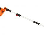 GARCARE 4.8-amp Cortasetos cable multiangular, cuchilla láser de 20 pulgadas, incluye cubierta para la cuchilla